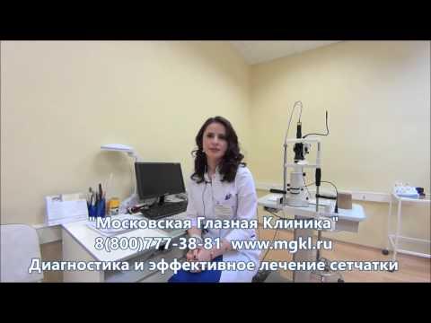 Ангиопатия сетчатки глаза - лечение, симптомы.