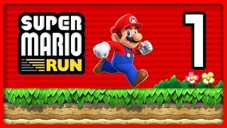 SUPER MARIO RUN Part 1: Run durch das Tutorial & World 1