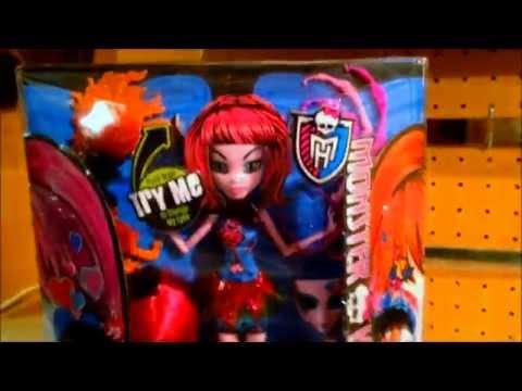 Monster High Inner Monster Fearfully Feisty 'n Mad Love Doll Review