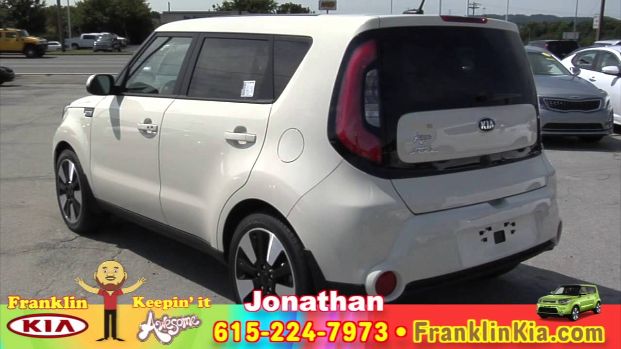 2016 Soul Exclaim Franklin Kia Cloud White Umber Leather Review Features Nashville Tn
