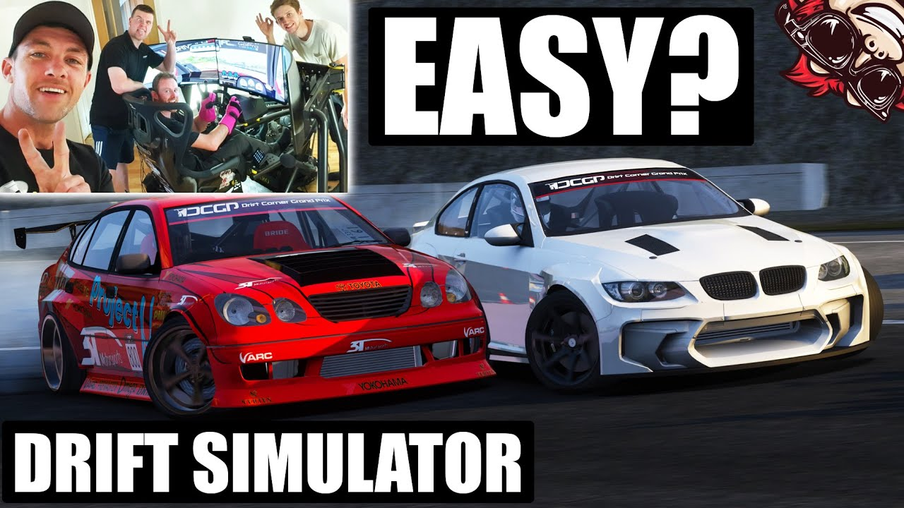 🐒 FRIENDS TRY DRIFTING ON MY RACING SIMULATOR SETUP! ASSETTO CORSA GAMEPLAY