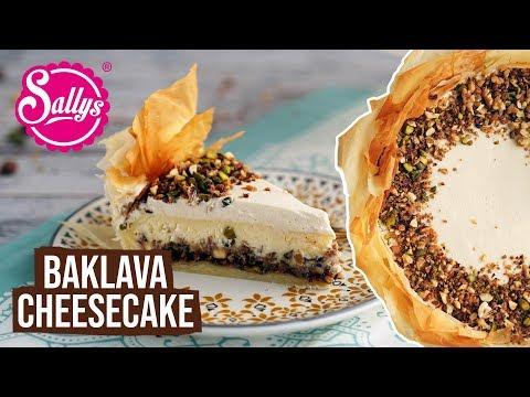 Baklava Cheesecake / Ramadan Special / Ramazan Tarifleri /  Sallys Welt