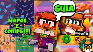 DESAFIO DO GRIFF | GUIA DE COMPS E DICAS PARA GANHAR GRATIS NO BRAWL STARS !!!!