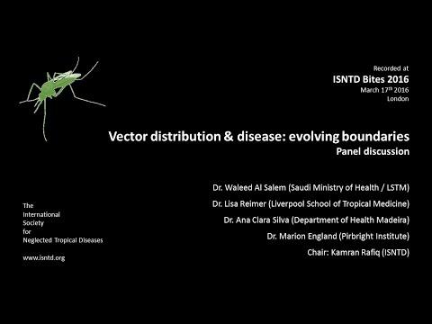 Panel discussion: Vectors & disease  evolving boundaries