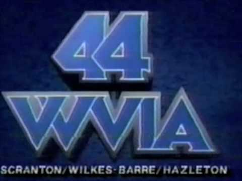 WVIA TV Channel 44 (Wilkes-Barre, PA) station ID (version 2) - 1991