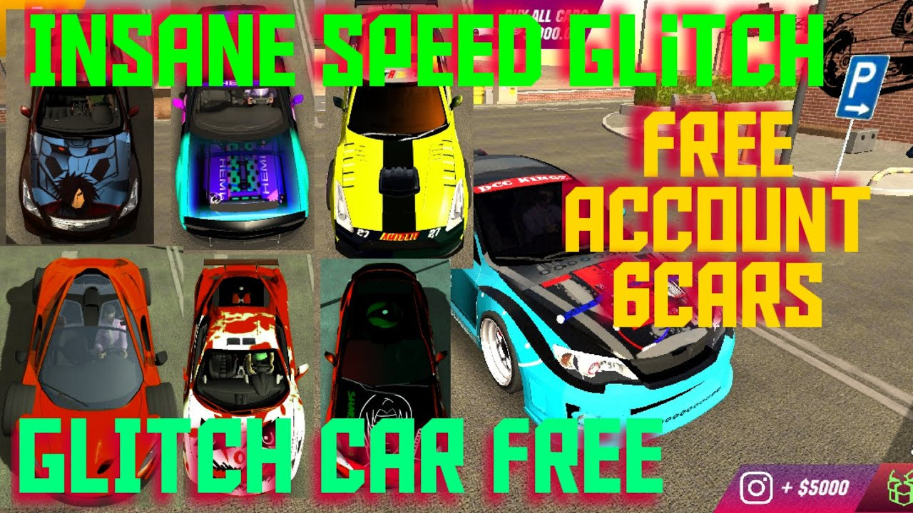 Car Parking Multi Player Free Account Youtube