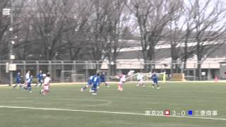 20150308東京23FCvs三菱商事サッカー同好会 ダイジェスト