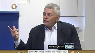 Quijada: Cualquier política económica en Venezuela debe tener un aparato productivo sólido (1/2)