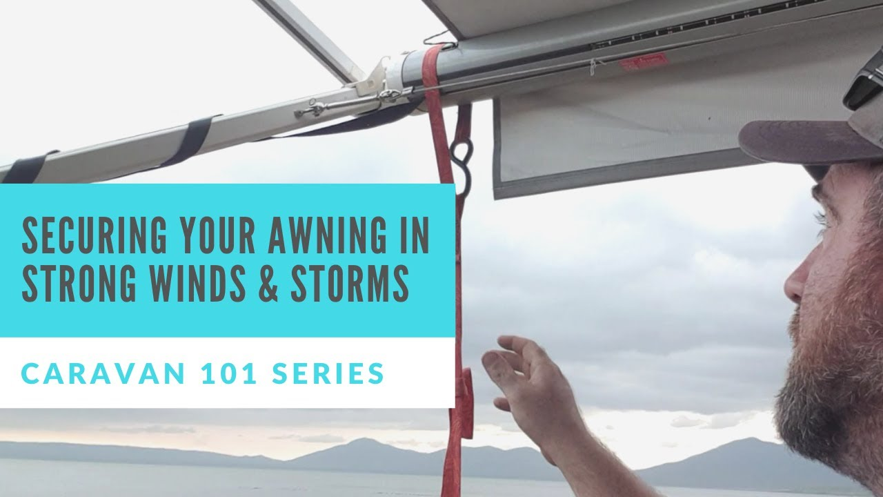 Caravan RV 101: Securing your Awning (Supapeg Alternative ...