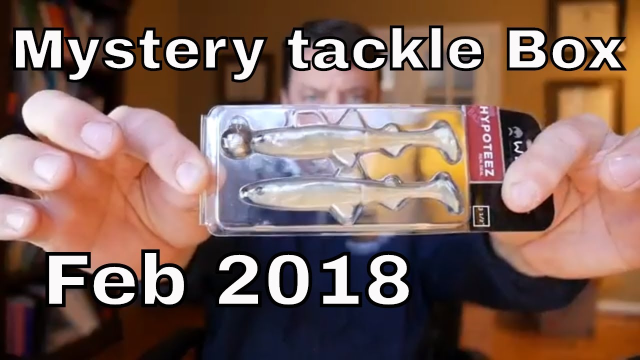 Mystery Tackle Box Pro vs MTB Regular Monthly - Tackle org