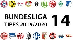 Bundesligatipps 14.Spieltag 2019/2020