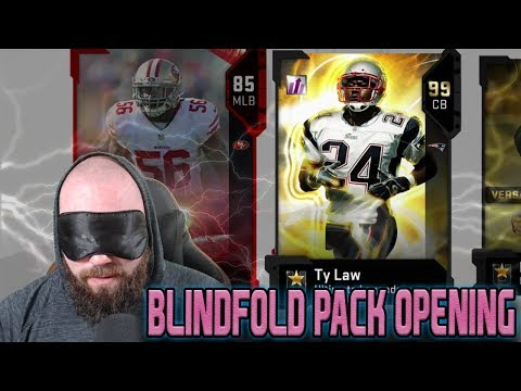 BLINDFOLD PACK OPENING FOR ULTIMATE LEGENDS! I REALLY MESSED UP   MADDEN 19