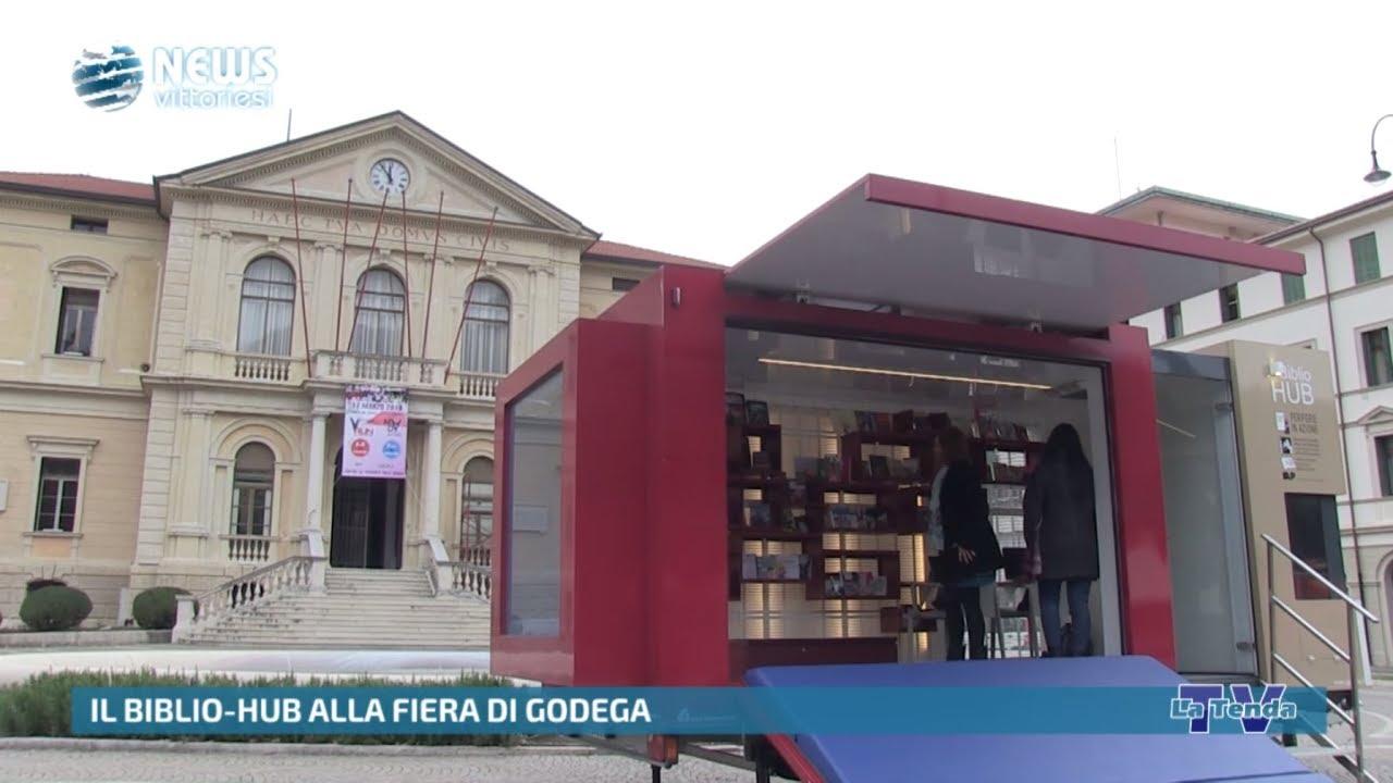News Vittoriesi   Il Biblio Hub alla Fiera di Godega