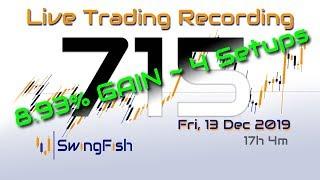 Gambar cover 📈Day Trading #Forex LIVE [Fri, 13 Dec +8.938%] GBPUSD GBPAUD