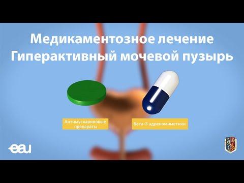 Медикаментозное лечение Гиперактивный мочевой пузырь (EAU - OAB RU)
