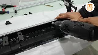 Заміна накладки (молдинга) порогу Land Rover Discovery, Range Rover Sport, Freelander
