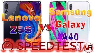 Lenovo Z5s vs Samsung Galaxy A40: Snapdragon 710 vs Exynos 7904 -Speedtest