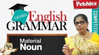 Learn English Grammar | Material Noun | Basic English Grammar Material Noun