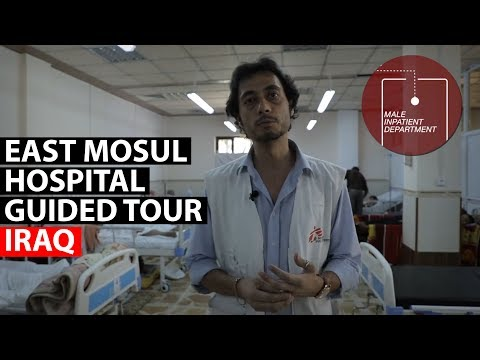IRAQ | Take a guided tour of our hospital in East Mosul