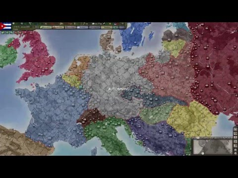 Hearts of Iron 3: 1936-1945 Observer Game Highlights