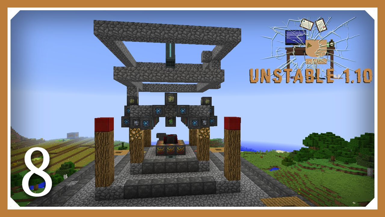 Minecraft Mods: FTB Unstable | Blood Magic Well of Suffering | E08 |  (Hypermine Modded 1 9 4 SMP)