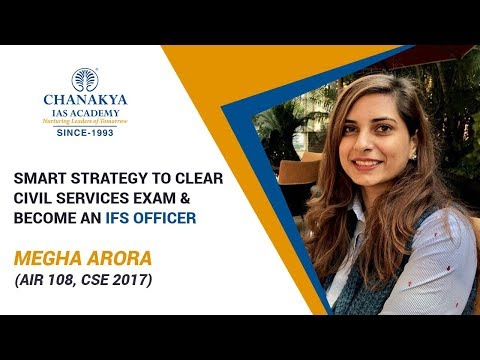 Toppers Talk with Megha Arora, IFS (AIR 108, CSE 2017)