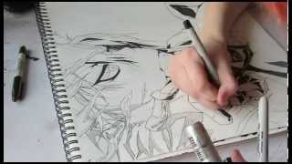 Drawing Tsuna Sawada
