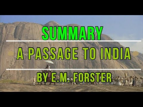 A Passage to India by E.M. Forster Summary | Learn English Through Story