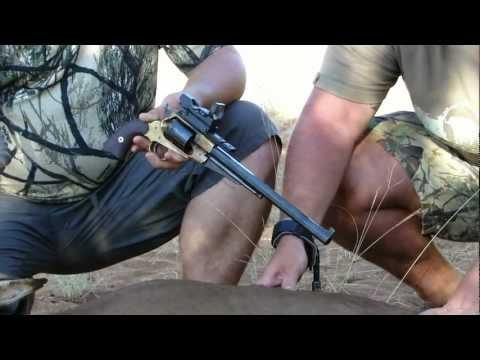 Muzzleloader Realtime Hunting Day 1 Scene 3 With A Black Powder Revolver .44 Caliber