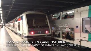 ( RER A ) Spot en gare d'Auber et Gare de Lyon