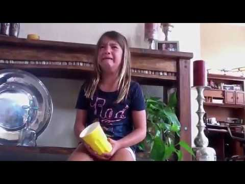 Little Girl Fails Cup Song  Funny