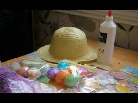 Diy Boys Easter Hat Decorating Ideas Youtube