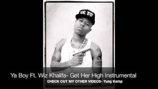 Wiz Khalifa // Ya Boy- Get Her High Instrumental w/ dl