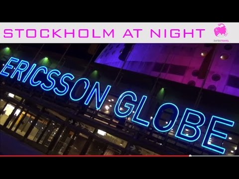 Cities of Europe; Stockholm Christmas Market, Ice Skating & Globe Arena