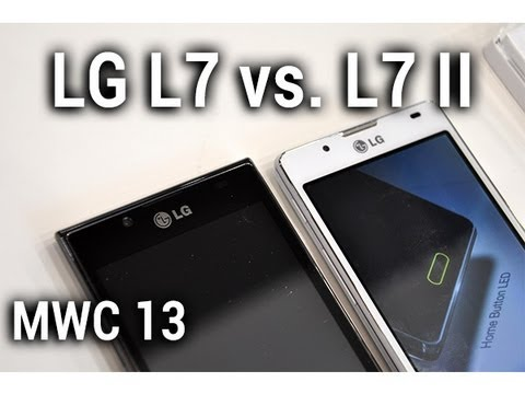 LG Optimus L7 vs. L7 II, comparaison au MWC 2013 - par Test-Mobile.fr