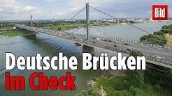 Ein Dutzend Brücken in Deutschland sind mangelhaft!