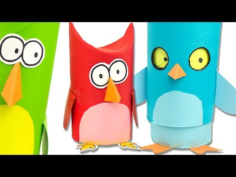 5 Owl Crafts from Paper & Cardboard | Easy DIY Ideas for Kids