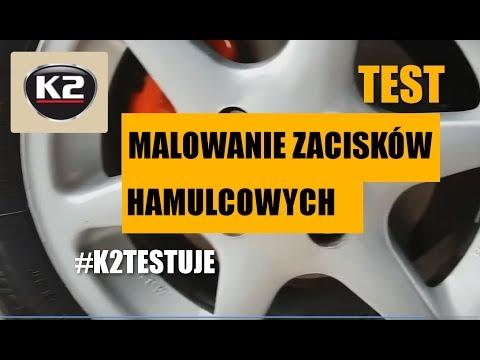 Testy użytkowników: Malowanie zacisków hamulcowych w Renault Thalia #K2TESTUJE