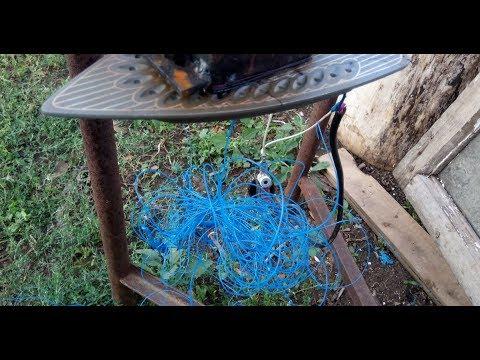 Как плавить пластик утюгом  Делаем пластиковую нить