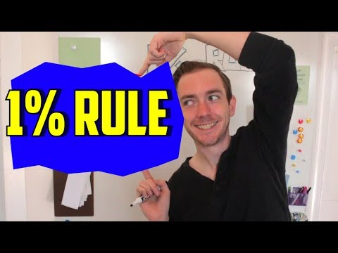 1% Rule: Why You Need to Know this Real Estate Tip: Learn if a Property Cashflows!