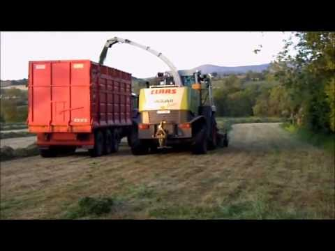 Silage in Borris, Co Carlow 2013 Prt 1