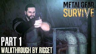 Metal Gear Survive Прохождение Часть 1 Альтернативная вселенная