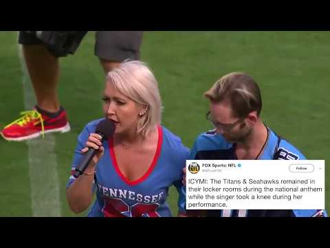 Meghan Linsey Kneels After Anthem: Who's With Her? - Taste of Country News 360