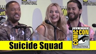Suicide Squad | 2016 Comic Con Full Panel (Will Smith, Margot Robbie, Jared Leto)