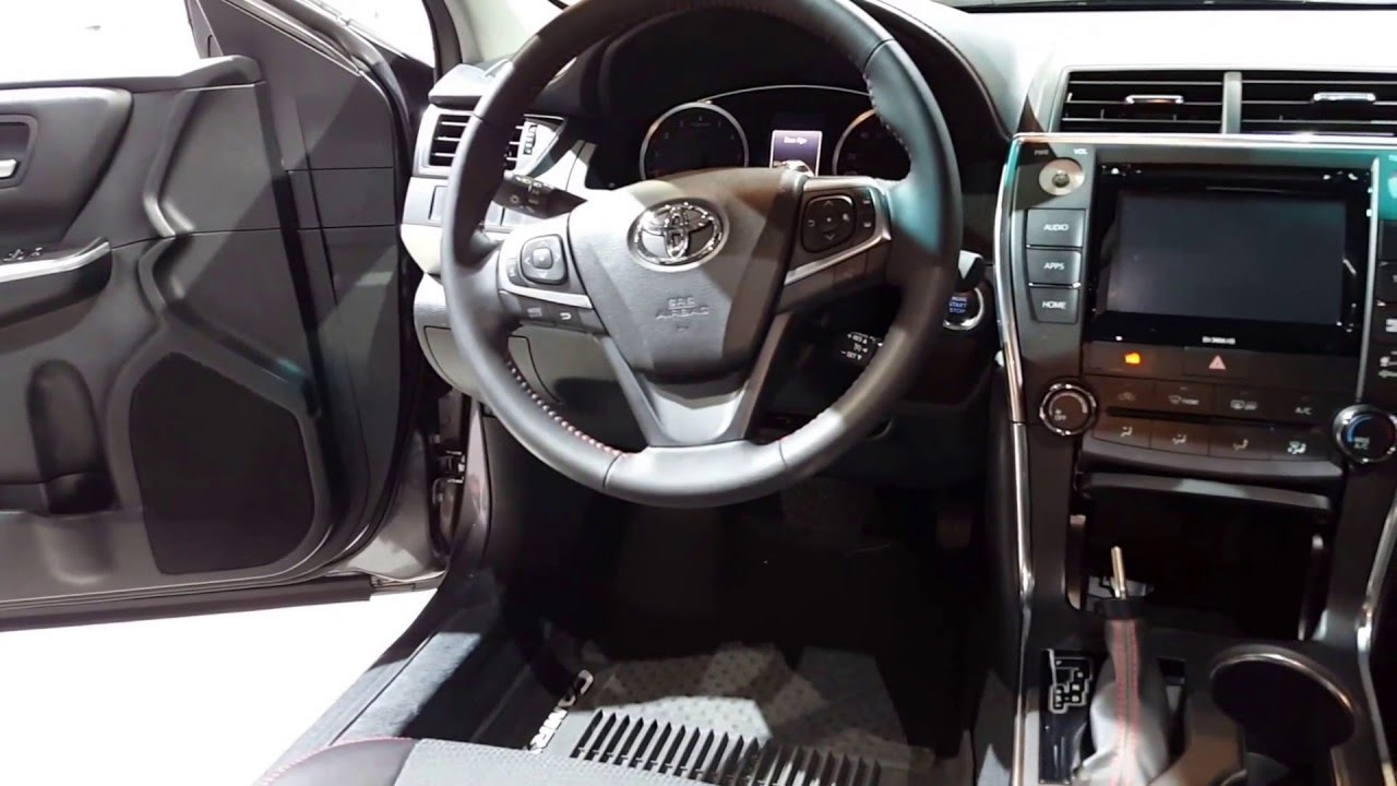 2016 Toyota Camry Se Interior Walkaround Price Site Cars
