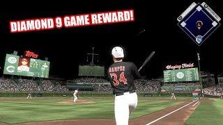 DIAMOND 9 GAME REWARD! - MLB The Show 17 Battle Royale Diamond Dynasty Gameplay