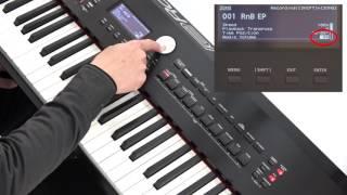 """""""Using Songs or Rhythm"""" Roland RD-2000 #13"""