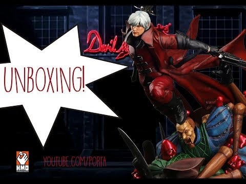 DANTE | DEVIL MAY CRY | HMO | UNBOXING PORTA