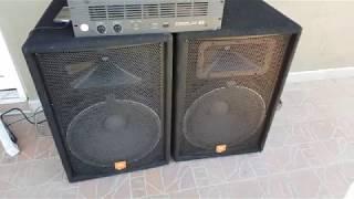 Jbl Jrx115 2x500w - Dynacord S900