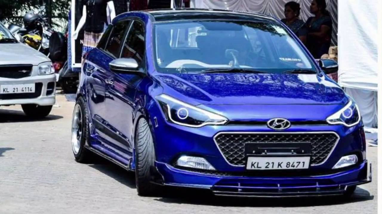 8 Modified Hyundai I20 Elite From India